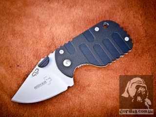 Böker SUBCOM, Black G-10 Handle
