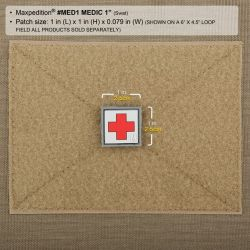 "Maxpedition MEDIC PATCH (1"" x 1"")"