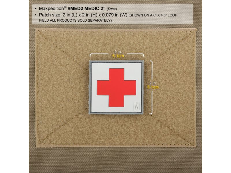 "Maxpedition MEDIC PATCH (2""x2"")"