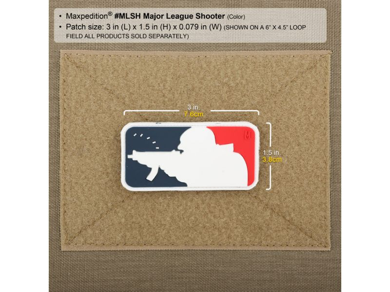 Maxpedition MAJOR LEAGUE SHOOTER PATCH