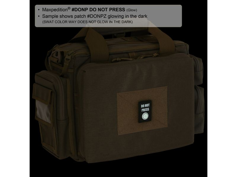 Maxpedition DO NOT PRESS PATCH