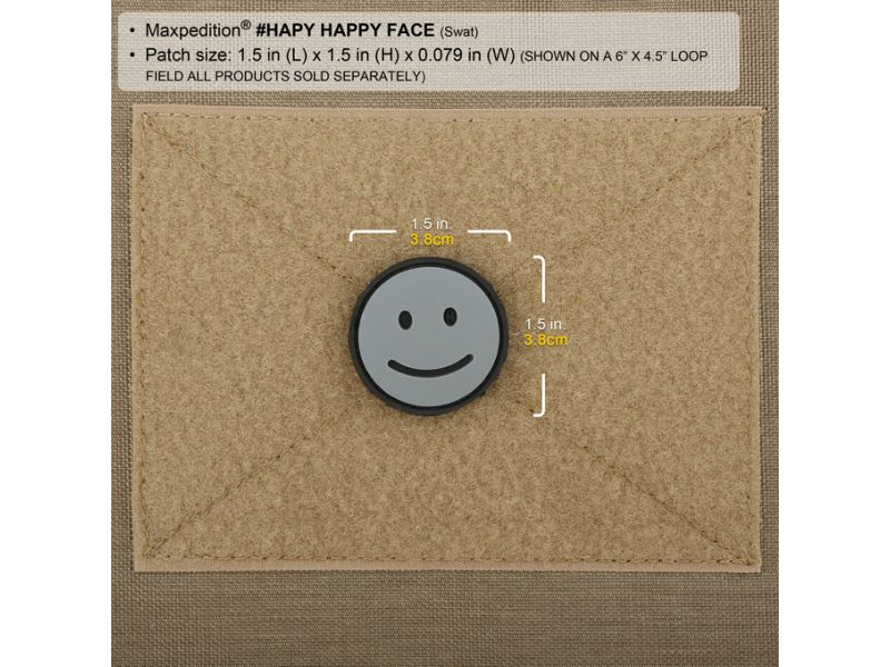 Maxpedition HAPPY FACE PATCH