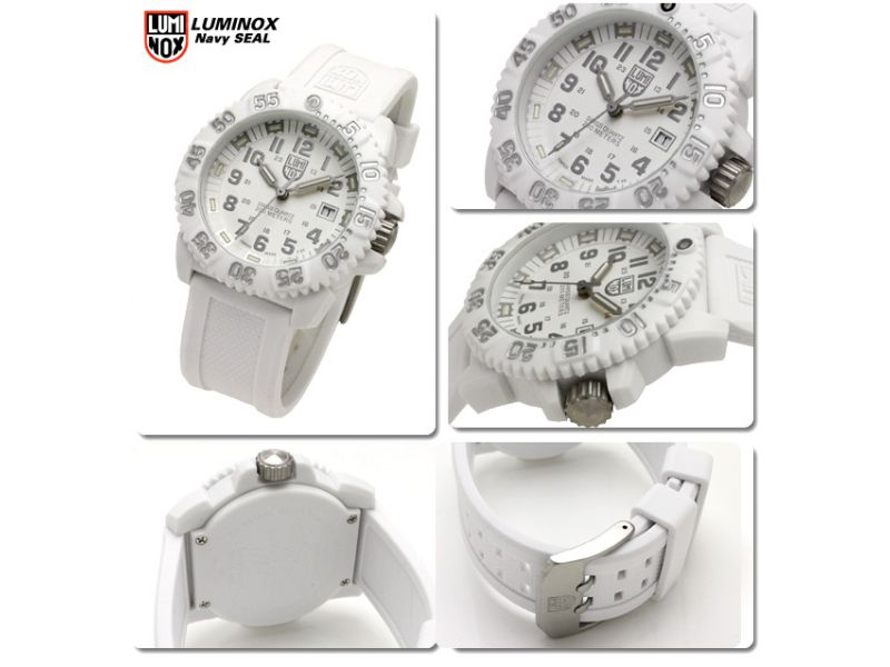 Luminox Navy SEAL Colormark 3057 Whiteout