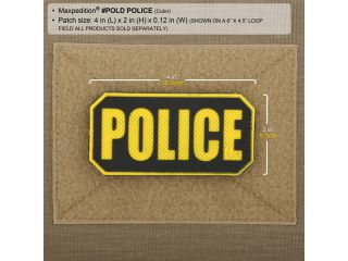 Maxpedition POLICE PATCH
