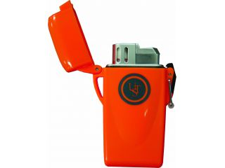 Windmill Floating Waterproof Lighter, Orange