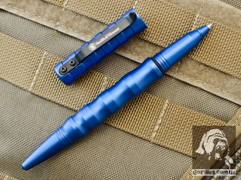 Smith and Wesson Military&Police Tactical Pen Blue, Gen2