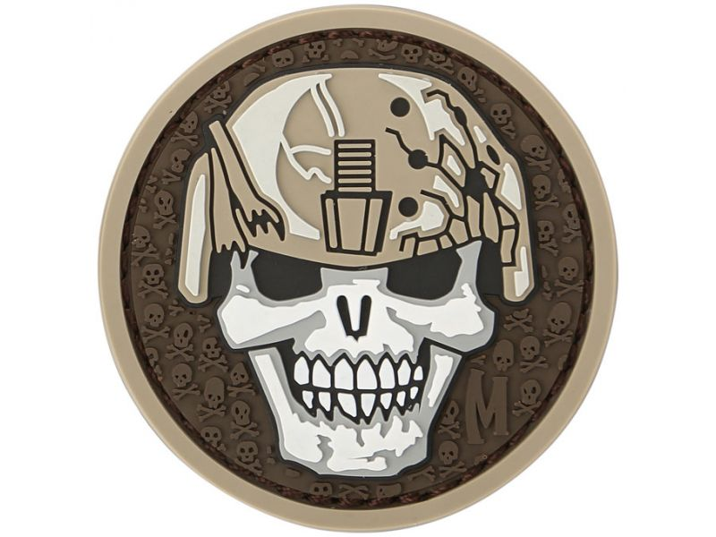 Maxpedition Soldier Skull Patch