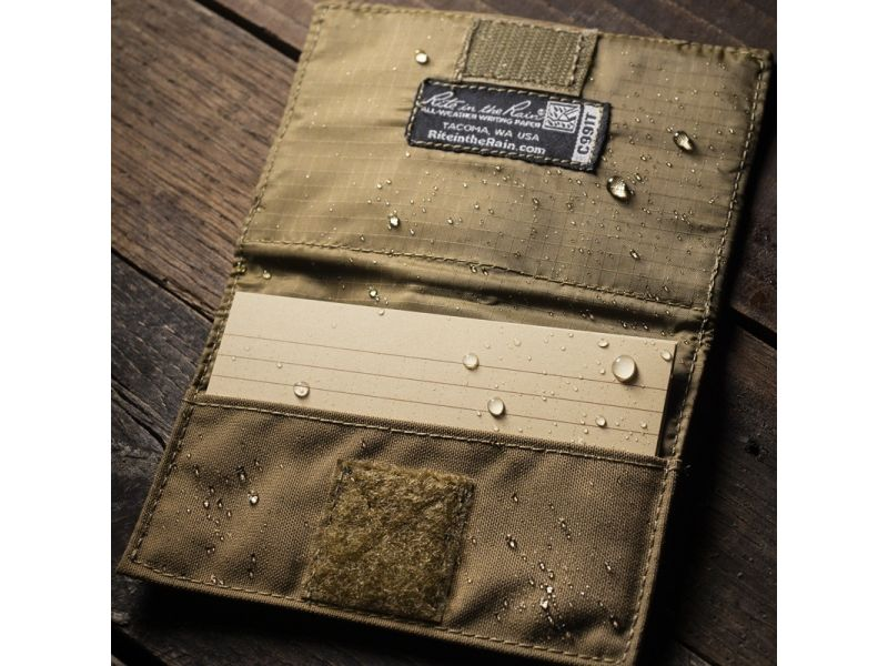 Rite in the Rain Index Card Wallet Black CORDURA®